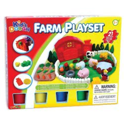 Toys-shop D.I Kid's Dough Farm Playset Πλαστοζυμαράκια JK097862 6990119978625