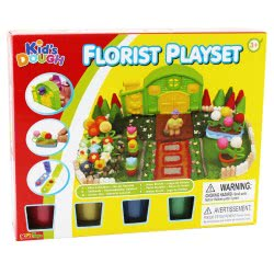 Toys-shop D.I Kid's Dough Florist Playset Πλαστοζυμαράκια JK097864 6990119978649