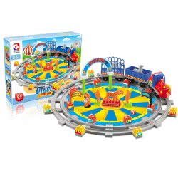 Toys-shop D.I Circus Funfair Blocks 63 Pieces JK104342 6990119043422