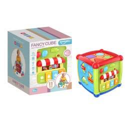 Toys-shop D.I Funcy Cube Κύβος με δραστηριότητες JK099191 6990119991914