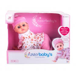 Toys-shop D.I Crawling Baby In 2 Colors 1Pcs JO087262 6990119872626
