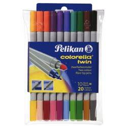 Pelikan Μαρκαδόρος Colorella Twin C304/10 949511 4012700949516