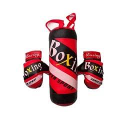Toys-shop D.I Σετ Μποξ Γάντια Με Σάκο JS059133 6990119591336