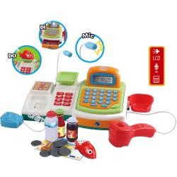 Toys-shop D.I Cash Register With Light And Sounds JU045796 6990119457960