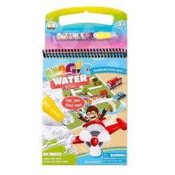Toys-shop D.I Magic Water Book Με Μεταφορικά Μέσα JK100006 6990119000067