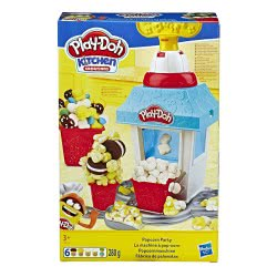 Hasbro Play-Doh Pop Corn Party E5110 5010993597260