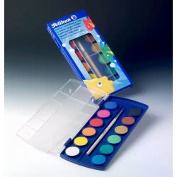 Pelikan Νερομπογιές Σετ 12 Χρωμάτων 721324 4012700721327