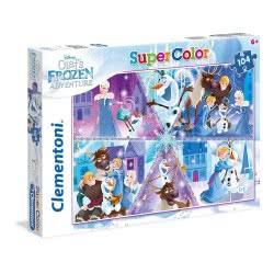 Clementoni Puzzle 104 Pieces Supercolor Olaf Frozen Adventure 1210-27094 8005125270941