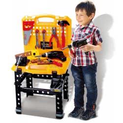 Toys-shop D.I Πάγκος Εργαλείων Workbench 38X34x68 Εκ. JU043562 6990119435623
