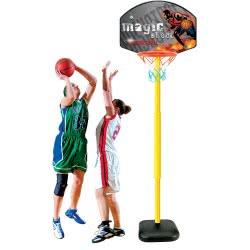 Toys-shop D.I Magic Shoot Basketball Μπασκέτα Μεγάλη Φορητή 150 Εκ. JS031395 6990119579778
