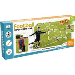 Toys-shop D.I Σετ Ποδοσφαίρου Με Τέρματα 2 Σε 1 Και Μπάλα JS060150 6990119601509