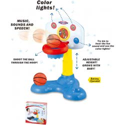 Toys-shop D.I Shoot And Sound Basketball My First Basket JB059466 6990119594658