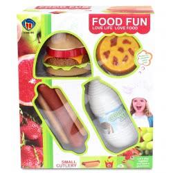 Toys-shop D.I Food Fun Fast food set JU046531 6990119465316