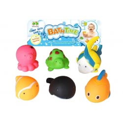 Toys-shop D.I Bath Time Squirt Toys 6Τεμ Παιχνίδια Μπάνιου JV021421 6990119214211