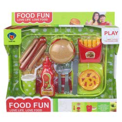 Toys-shop D.I Food Fun Fast food set JU046532 6990119465323