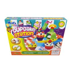 Toys-shop D.I Kid's Dough Cupcake Station Μηχανή παρασκευής JK097865 6990119978656