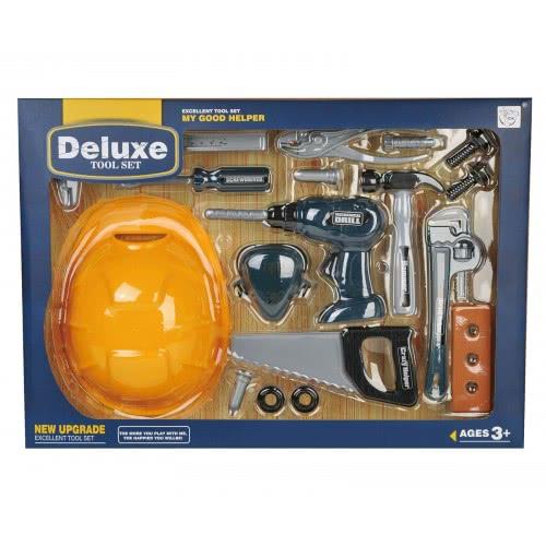 Toys-shop D.I Deluxe Tool Set 17Τεμ Εργαλεία JU043004 6990119430048
