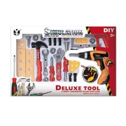 Toys-shop D.I Deluxe Tool Set 29Τεμ Εργαλεία JU043575 6990119435753