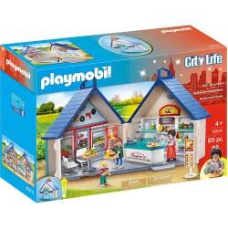 Playmobil Βαλιτσάκι Εστιατόριο Fast Food 70111 4008789701114