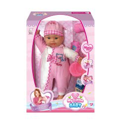 Toys-shop D.I My Little Baby Interactive Baby 40 Cm With Accessories JO073604 6990119736041