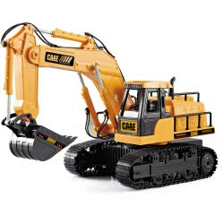 Toys-shop D.I CAAE Excavator Engineering Truck 1:24 JF062064 6990119620647