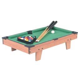 Toys-shop D.I Snooker Wooden Table 50.8X12x29.5 Cm JS060813 6990119608133