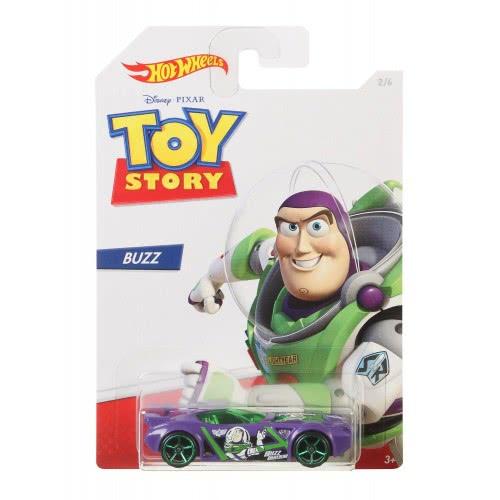 Mattel Hot Wheels Αυτοκινητάκι Buzz Lightyear (Toy Story) 1:64 GDG83 / GBB28 887961749236