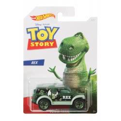 Mattel Hot Wheels Αυτοκινητάκι Rex (Toy Story) 1:64 GDG83 / GBB25 887961749199