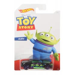 Mattel Hot Wheels Αυτοκινητάκι Alien (Toy Story) 1:64 GDG83 / GBB27 887961749205