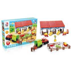 Toys-shop D.I Stables Field Blocks Farm 101 Pieces JK104340 6990119043408
