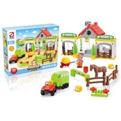 Toys-shop D.I Horse Club Blocks 85 Pieces JK104341 6990119043415