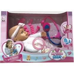 Toys-shop D.I My Little Baby Doll With Accessories 35 Cm JO093476 6990119934768