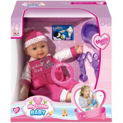 Toys-shop D.I My Little Baby Doll With Accessories 35 Cm JO075641 6990119756414