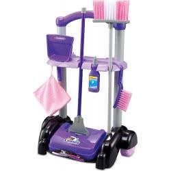 Toys-shop D.I My Cleaning Tool Παιδικό Σετ Τρόλλευ Καθαρισμού Με 13 Αξεσουάρ JU044627 6990119446278