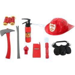 Toys-shop D.I Fire Brigade Εξοπλισμός Πυροσβέστη Με 8 Αξεσουάρ JY055760 6990119557608