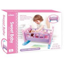 Toys-shop D.I Sweet Baby Κρεβάτι Κούκλας 50X41x36 Εκ. JZ061791 6990119617913
