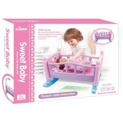 Toys-shop D.I Sweet Baby Doll Bed 50X41x36 Cm JZ061791 6990119617913