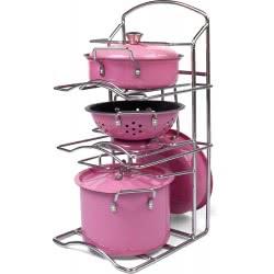 Toys-shop D.I Kitchen Simulation Series Σετ Μαγειρικής Ανοξείδωτο Ατσάλι Με 7 Αξεσουάρ JU046998 6990119469987