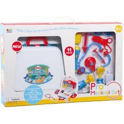 Toys-shop D.I Pro Medical Set Βαλιτσάκι Γιατρού Με 11 Αξεσουάρ JU047559 6990119475599