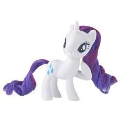 Hasbro My Little Pony Pony Mane Rarity Classic Figure E4966 / E5009 5010993575077