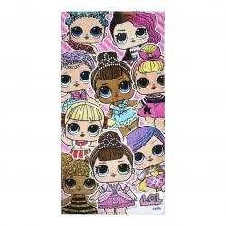 Cerda L.O.L. Surprise Towel Pink 70X140 Cm 2200004057 8427934274727