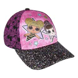 Cerda L.O.L. Surprise Καπέλο Premium Με Μαύρο Γείσο, Μαυρο-Ροζ, 54 Εκ. 2200004089 8427934280711