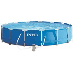 INTEX Metal Frame Swimming Pool With Filter Pump 305X76 Cm 28202 6941057400310