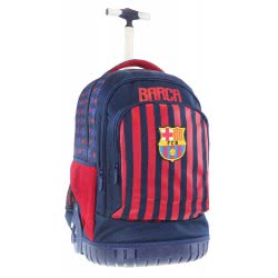 Diakakis imports Primary School Trolley Backbag Barcelona 3 Compartments 31X20x47cm 000170672 5205698434631