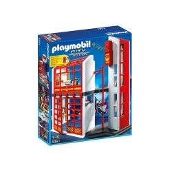 Playmobil Αρχηγείο Πυροσβεστικής με σειρήνα 5361 4008789053619