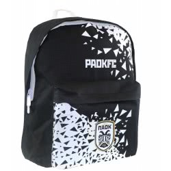 Diakakis imports Primary School Backbag PAOK FC 2 Compartments 30X15x40cm 000130950 5205698443282