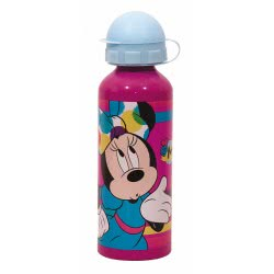 GIM Minnie Mouse Παγούρι Αλουμινίου 520Ml - Μωβ 553-60232 5204549117037