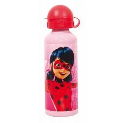 GIM Miraculous Ladybug Aluminium Canteen 520Ml - Pink 574-02232 5204549117389