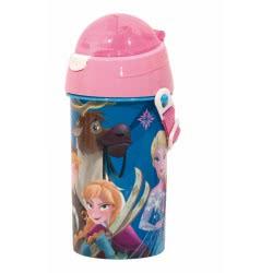 GIM Disney Frozen Παγούρι 500Ml - Ροζ 551-27209 5204549116856