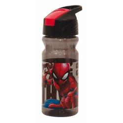 GIM Spiderman Water Canteen Flip 500Ml - Black 557-39203 5204549117167